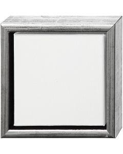 ArtistLine Künstlerleinwand mit Rahmen, Tiefe 3 cm, Größe 19x19 cm, Weiß, 6 Stck./ 1 Pck.