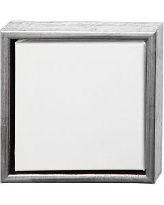 ArtistLine Künstlerleinwand mit Rahmen, Größe 24x24 cm, Weiß, 6 Stck./ 1 Pck.