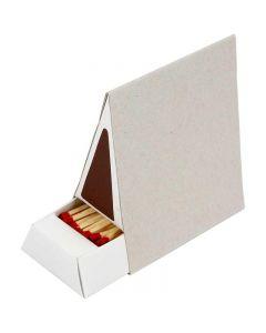 Streichholzschachtel, Größe 8,5x5x9,5 cm, 10 Stck./ 1 Box