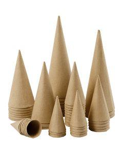 Kegel, H: 8-20 cm, D: 4-8 cm, 50 Stck./ 1 Pck.