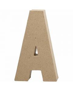 Buchstaben, A, H: 20,5 cm, B: 11,8 cm, Dicke 2,5 cm, 1 Stck.