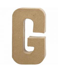 Buchstaben, G, H: 20,5 cm, B: 11,5 cm, Dicke 2,5 cm, 1 Stck.