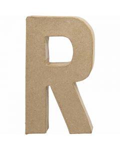 Buchstabe, R, H: 20,5 cm, B: 11,7 cm, Stärke: 2,5 cm, 1 Stck.