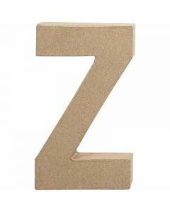 Buchstaben, Z, H: 20,2 cm, B: 11,2 cm, Dicke 2,5 cm, 1 Stck.