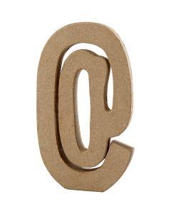 Zeichen, @, H: 19,9 cm, B: 11,5 cm, Stärke: 2,6 cm, 1 Stck.