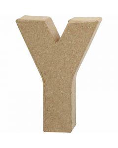 Buchstaben, Y, H: 10 cm, B: 7,9 cm, Dicke 1,7 cm, 1 Stck.