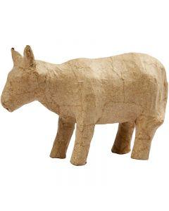 Kuh, H: 8 cm, L: 13 cm, 1 Stck.