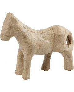 Pferd, H: 12 cm, 1 Stck.