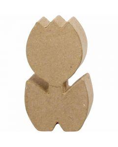 Tulpe, H: 19 cm, Tiefe 3 cm, 1 Stck.