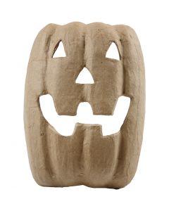 Halloween-Maske, H: 21,5 cm, B: 17 cm, 1 Stck.