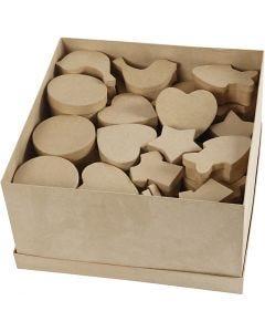 Schachteln, Größe 6-11 cm, 63 Stck./ 1 Pck.
