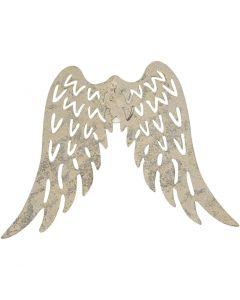 Flügel, H: 6 cm, B: 7,5 cm, 5 Stck./ 1 Pck.