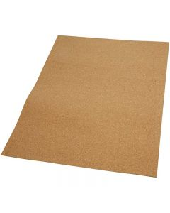 Korkplatten, Größe 35x45 cm, Stärke: 2 mm, 4 Stck./ 1 Pck.