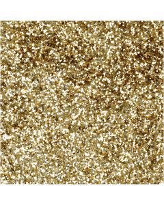 Bio Sparkles, D: 0,4 mm, Gold, 10 g/ 1 Dose