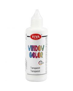 Window-Color, Transparent, 90 ml/ 1 Fl.