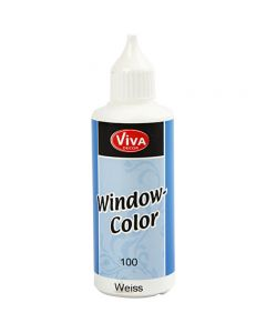 Window-Color, Weiß, 80 ml/ 1 Fl.