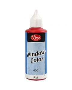 Window-Color, Rot, 80 ml/ 1 Fl.