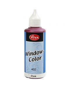 Window-Color, Pink, 80 ml/ 1 Fl.