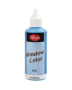 Window-Color, Hellblau, 80 ml/ 1 Fl.