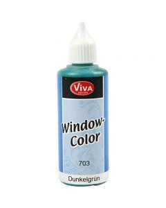 Window-Color, Dunkelgrün, 80 ml/ 1 Fl.