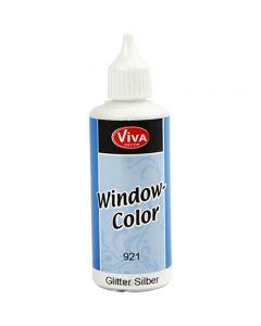 Window-Color, Glitter silber, 80 ml/ 1 Fl.