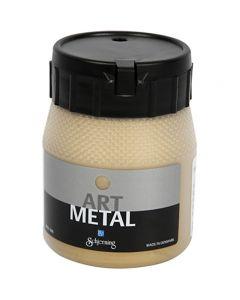 Art Metal Farbe, Hellgold, 250 ml/ 1 Fl.
