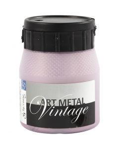Art Metal Farbe, Perlmutt-Rosa, 250 ml/ 1 Fl.