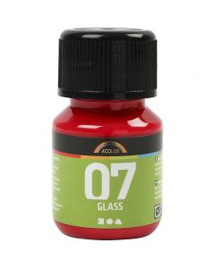 A-Color Glass, Rot, 30 ml/ 1 Fl.