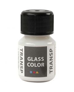 Glass Color Transparent, Weiß, 30 ml/ 1 Fl.