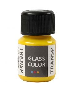 Glass Color Transparent, Zitronengelb, 30 ml/ 1 Fl.