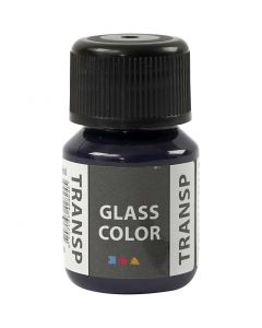 Glass Color Transparent, Marineblau, 30 ml/ 1 Fl.