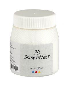 3D Strukturschnee, Weiß, 250 ml/ 1 Dose