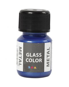 Glass Color Metal, Blau, 30 ml/ 1 Fl.