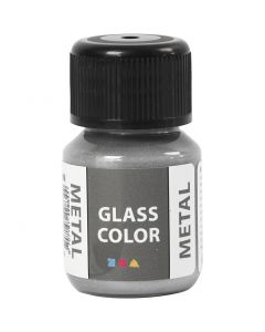 Glass Color Metal, Silber, 30 ml/ 1 Fl.