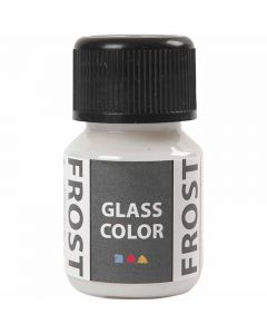 Glass Color Frost, Weiß, 30 ml/ 1 Fl.