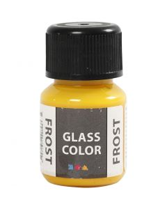 Glass Color Frost, Gelb, 30 ml/ 1 Fl.