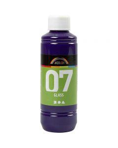 A-Color Glas-/Porzellanfarbe, Rotviolett, 250 ml/ 1 Fl.