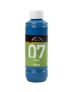 A-Color Glas-/Porzellanfarbe, Türkis, 250 ml/ 1 Fl.