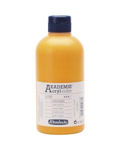 Schmincke AKADEMIE® Acrylfarbe, Transparent, Indischgelb (226), 500 ml/ 1 Fl.
