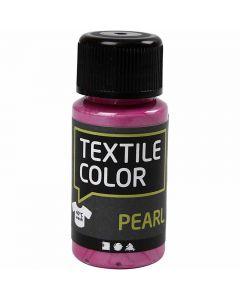 Textilfarbe, Perlmutt, Zyklam, 50 ml/ 1 Fl.
