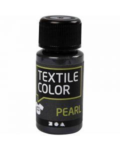 Textilfarbe, Perlmutt, Grau, 50 ml/ 1 Fl.