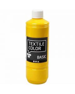 Textilfarbe, Primärgelb, 500 ml/ 1 Fl.