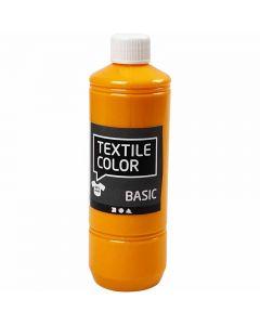 Textilfarbe, Gelb, 500 ml/ 1 Fl.