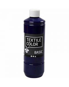 Textilfarbe, Brillantblau, 500 ml/ 1 Fl.