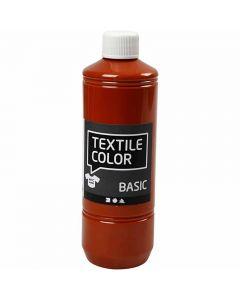 Textilfarbe, Ziegel, 500 ml/ 1 Fl.