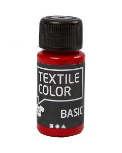 Textilfarbe, Rot, 50 ml/ 1 Fl.