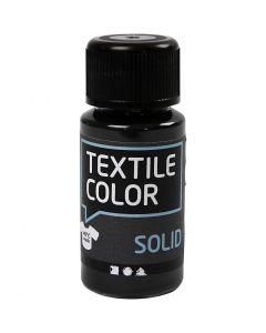 Textile Solid, Deckend, Schwarz, 50 ml/ 1 Fl.