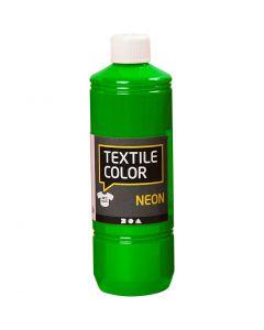 Textilfarbe, Neongrün, 500 ml/ 1 Fl.