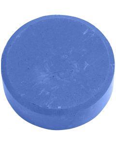 Wasserfarben im Set, H: 16 mm, D: 44 mm, Blau, 6 Stck./ 1 Pck.