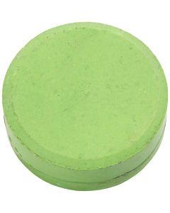 Wasserfarben im Set, H: 16 mm, D: 44 mm, Grün, 6 Stck./ 1 Pck.